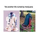 Yet another life ruined by marijuana by memeshirtees