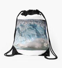 Ice Fall, Perito Moreno Glacier, Argentina Drawstring Bag