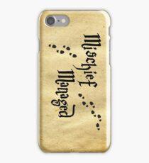 Mischief Managed iPhone Case/Skin