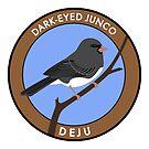 Dark-eyed Junco by JadaFitch