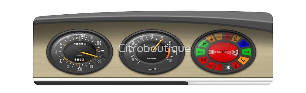 Citroën SM Dashboard by Citroboutique
