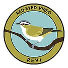 Red-eyed Vireo by JadaFitch