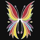 Rainbow Wings by Amy-lee Foley