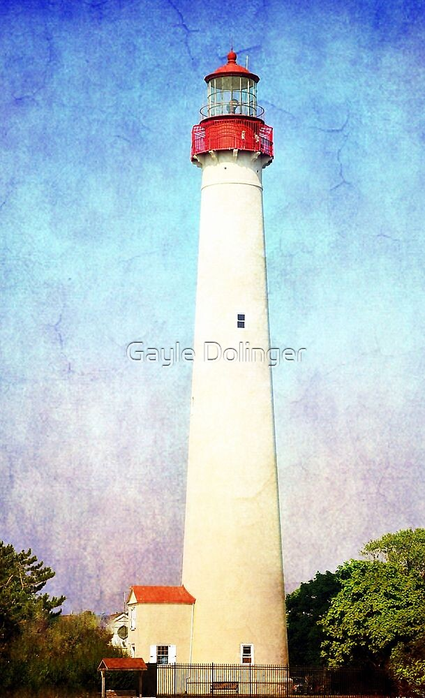 Cape May Light by Gayle Dolinger