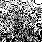 Tree of light (CLASSIC Edition) von worldofsepia