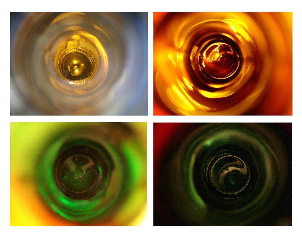 Beer series - looking down the neck by theflostudio