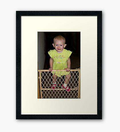 The Escape Artist Framed Print