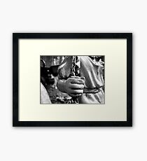 Swing, swing Framed Print