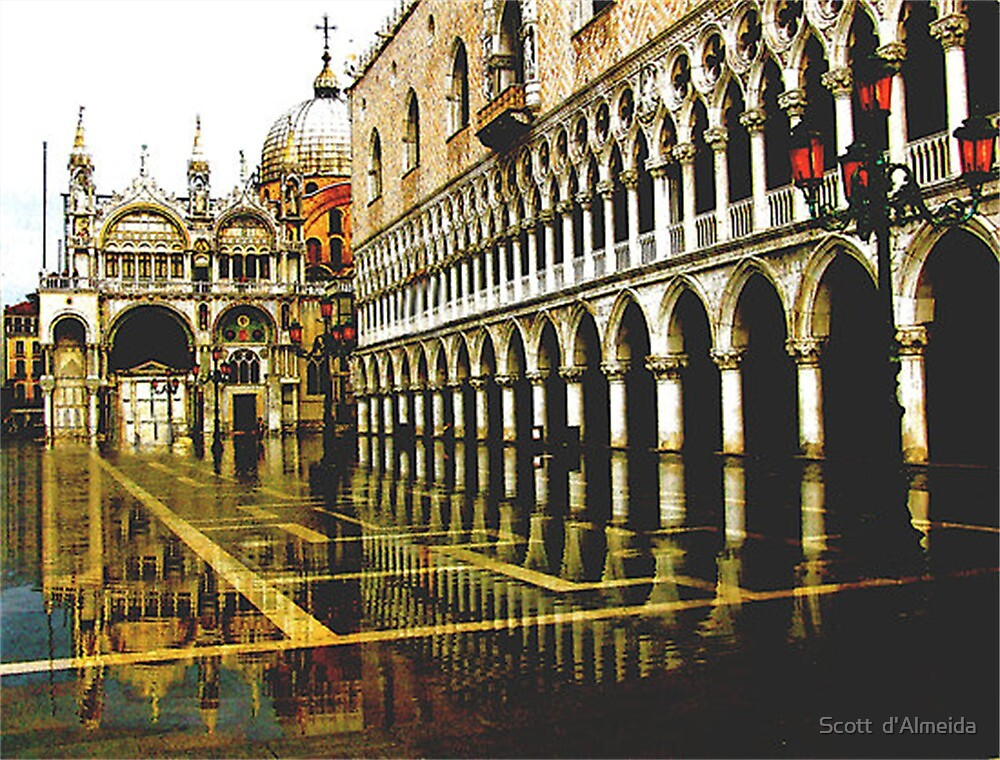 PALACE REFLECTED  by Scott  d'Almeida