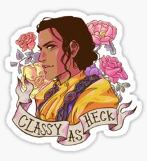 Classy as Josie Sticker