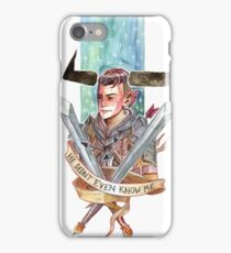 He Didn't Even Know me iPhone Case/Skin