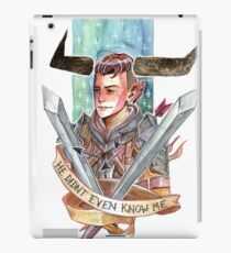 He Didn't Even Know me iPad Case/Skin