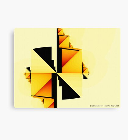 Simple Complexity Canvas Print