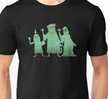 Hitch-hiking Christmas Ghosts Unisex T-Shirt