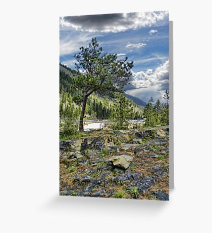 Kootenai River Drainage Greeting Card
