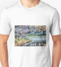 Cherry Blossom Sunrise Photo Unisex T-Shirt