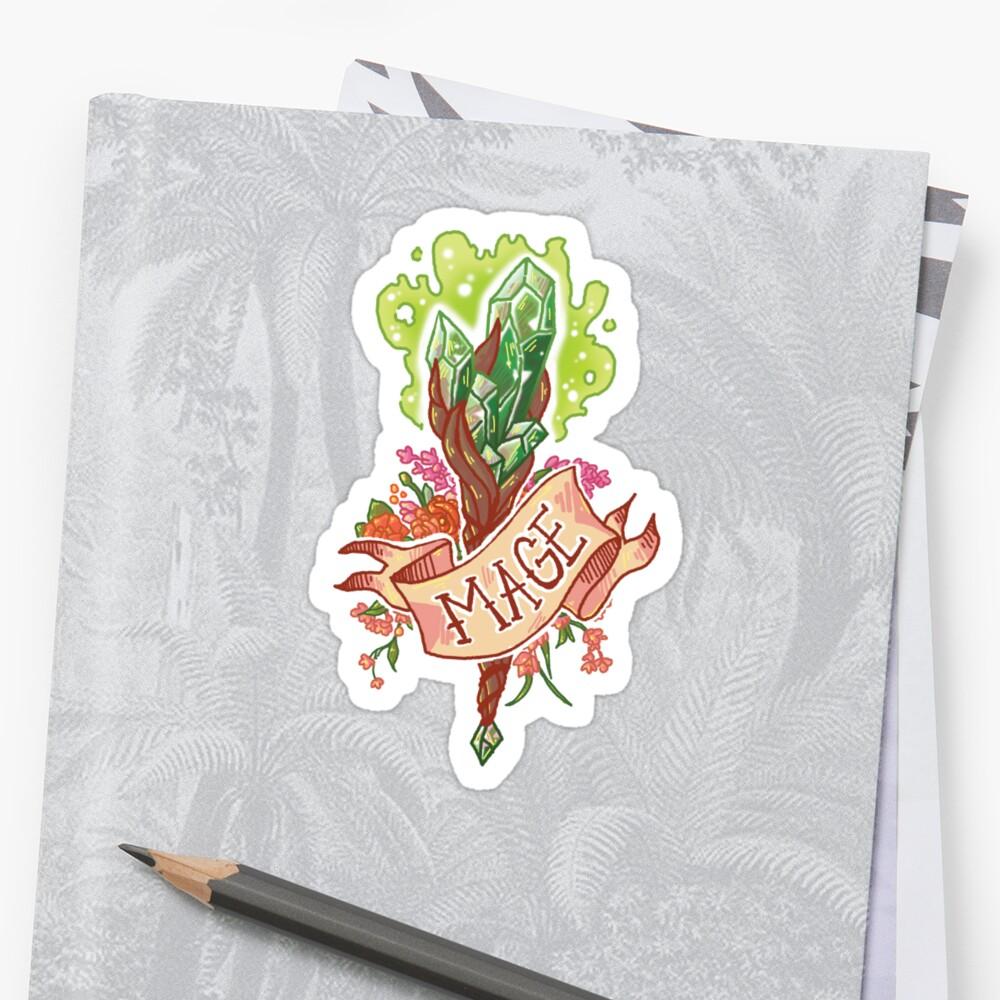 Mage Class Sticker