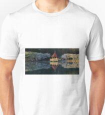Gazebo Reflection On Lake Photo Unisex T-Shirt