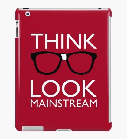 Think NERD Look MAINSTREAM iPad Case/Skin