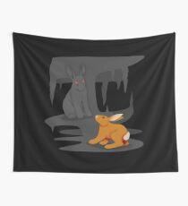 El-ahrairah and the Black Rabbit of Inlé Wall Tapestry
