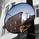 North Beach reflections by David  Perea