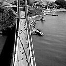 Slanted Moments SF Bridge by David  Perea