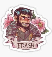 TRASH HAWKE Sticker