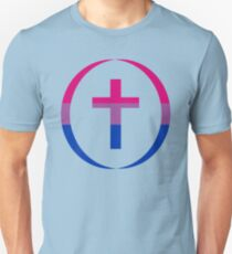 Christian (Blue, Pink, White) Third Culture Series Slim Fit T-Shirt