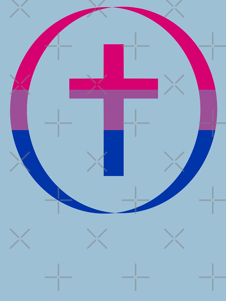 Christian (Blue, Pink, White) Third Culture Series by carbonfibreme