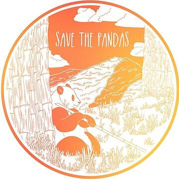¡Salva a los pandas! de Chikagi