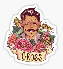 GROSS Sticker