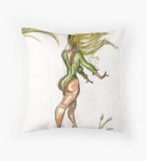 Blond Throw Pillow