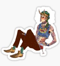Punk!Loki Sticker