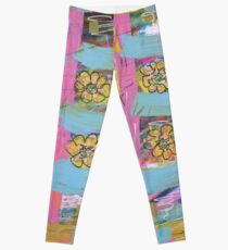 Windowsill Flowers Leggings