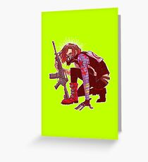 Punk!Winter Soldier Greeting Card