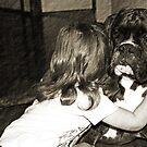 I Love You !  -Boxer Dogs Series- von Evita