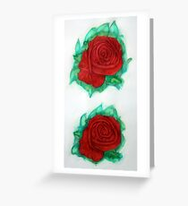 Roses 1985 Greeting Card