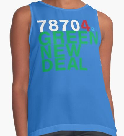 Austin 78704 for a Green New Deal Sleeveless Top