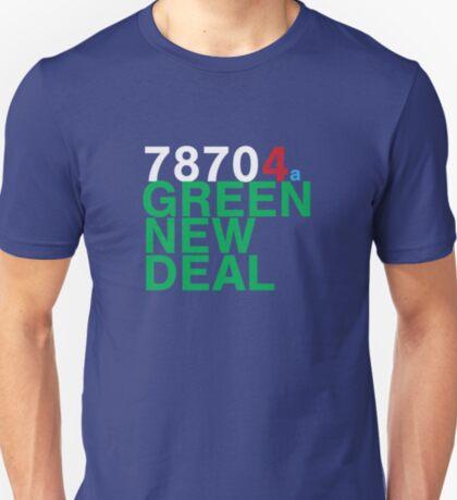 Austin 78704 for a Green New Deal T-Shirt