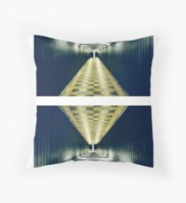 as above, so below (diptych) Throw Pillow
