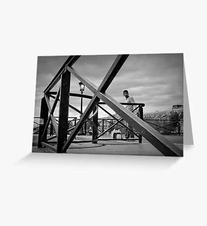 Pont des arts Greeting Card