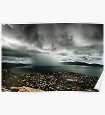Cloudburst on Cleveland Bay Poster