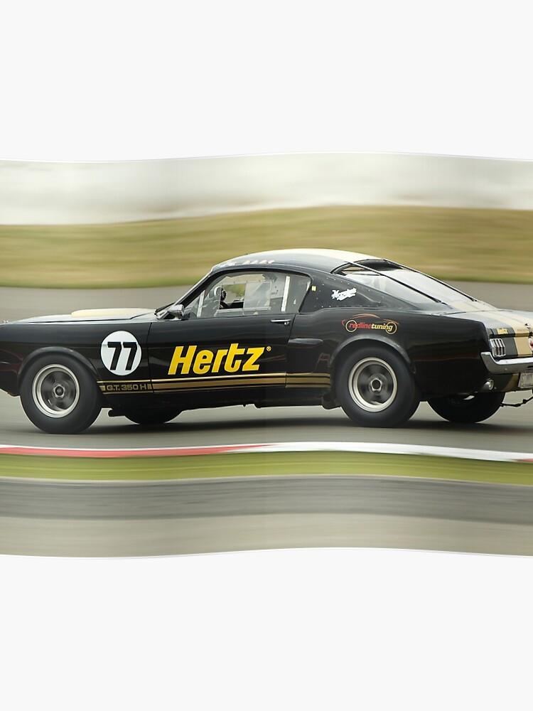 Hertz Rent-a-Racer | Poster