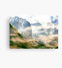 In this high silence is rest. Canvas Print