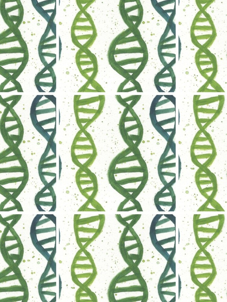 DNA in Acrylic Greens by sumonkeys
