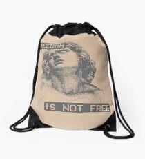 Freedom Isn't Free Drawstring Bag