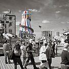 Fun on Brighton Pier by DonDavisUK