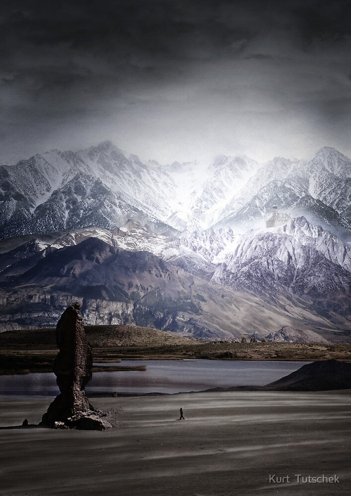 Imaginary landscapes: The wanderer by Kurt  Tutschek