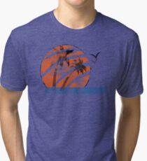 Scarred Sunset Tri-blend T-Shirt