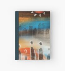 Tribal abstract  Hardcover Journal